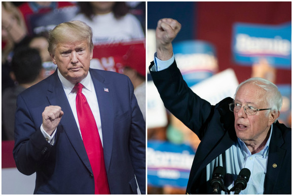 Tramp i Sanders