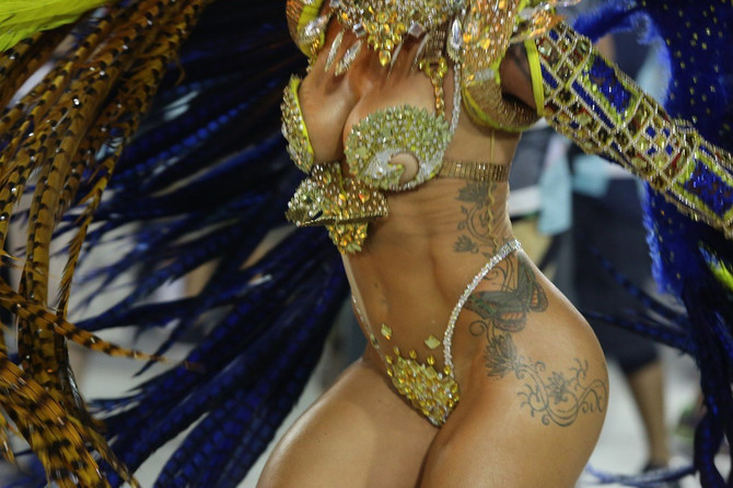 Kraljice povorki su prave zvezde u Brazilu