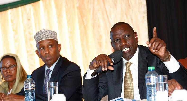 Angry DP Ruto issues tough ultimatum to Raila as Kibra bedroom wars continue