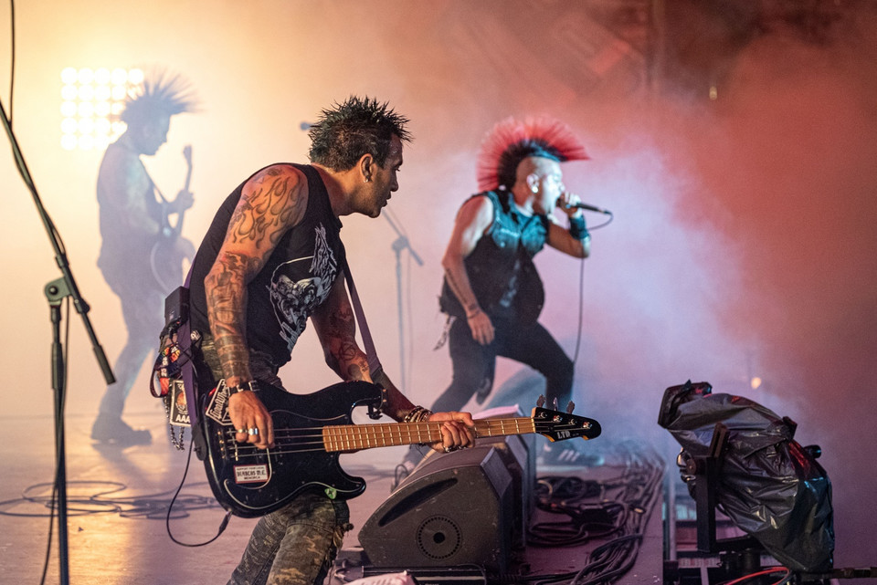 The Casualties na 25. Pol'and'Rock Festival 2019