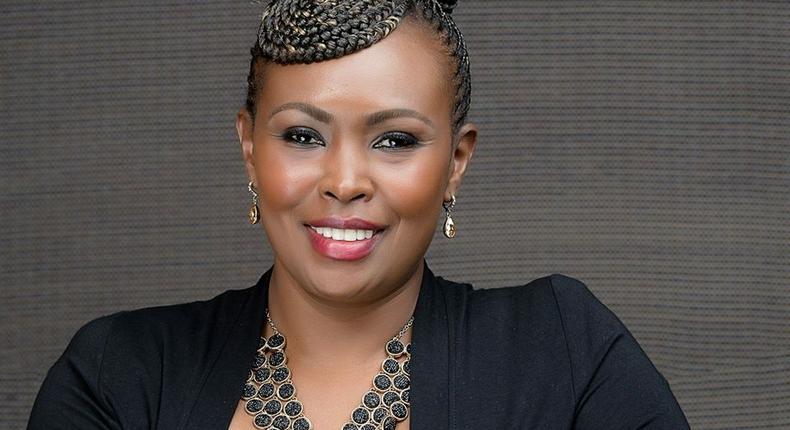 Caroline Mutoko's tweet on burning Parliament backfires as  netizens accuse you of hypocrisy