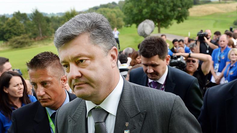 Poroszenko rozmawiał przez telefon z Putinem