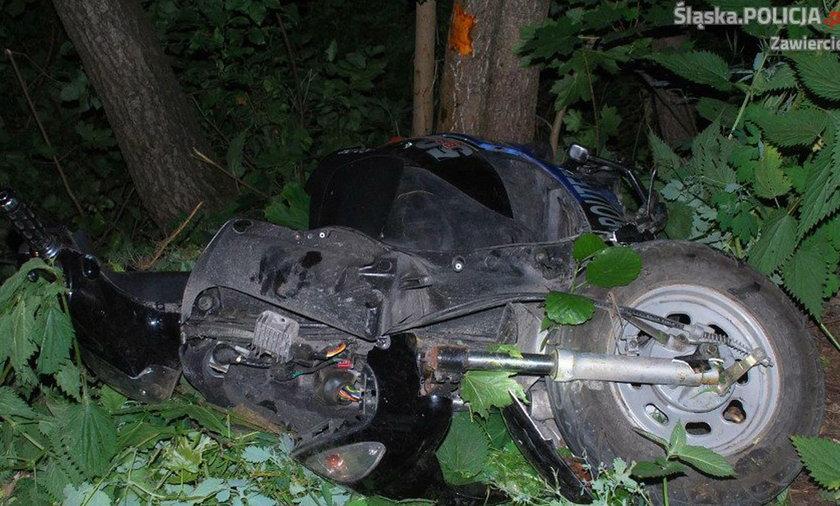 Wypadek niedaleko Szczekocin