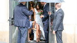 Sukienka ślubna Kaczyńskiej zrobiła furorę. Cena zaskakuje
