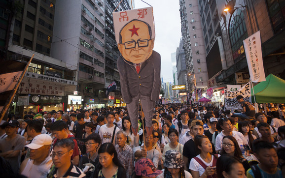 Lijev lik našao se i na protestima u Hong Kongu