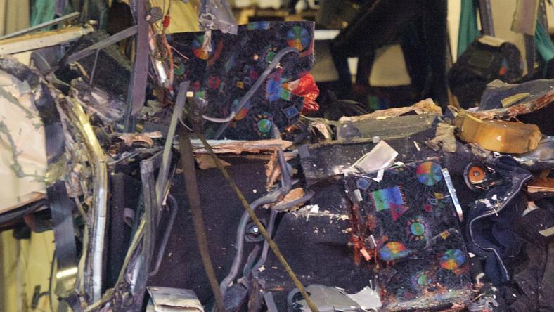 Autokar przewożący 52 osoby rozbił się kilka chwil po rozpoczęciu podróży