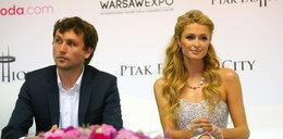 Pierścionek, który zgubiła Paris Hilton, przekazany