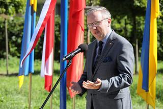 Szczerski o Białorusi: Świat milczy albo jest obojętny