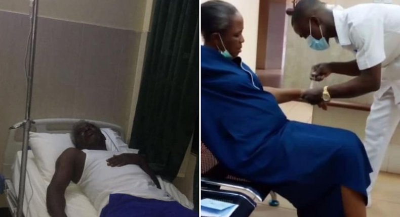 Suspended Enugu traditional ruler, wife hospitalised after release from police. [nigeriannewsdirect]