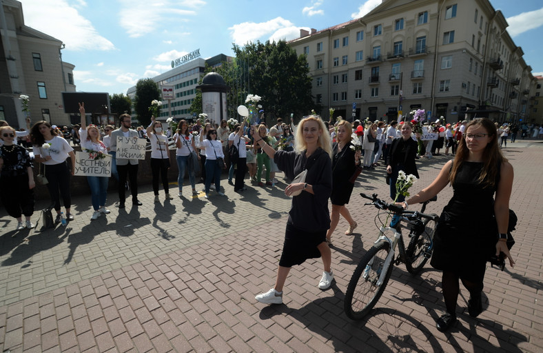 Białoruś. Protesty. Mińsk