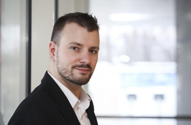 Jakub Styczyński, dziennikarz Gazety Prawnej