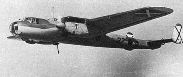 Samolot Dornier Do 17 Legionu Condor użyty w bombardowaniu Guerniki