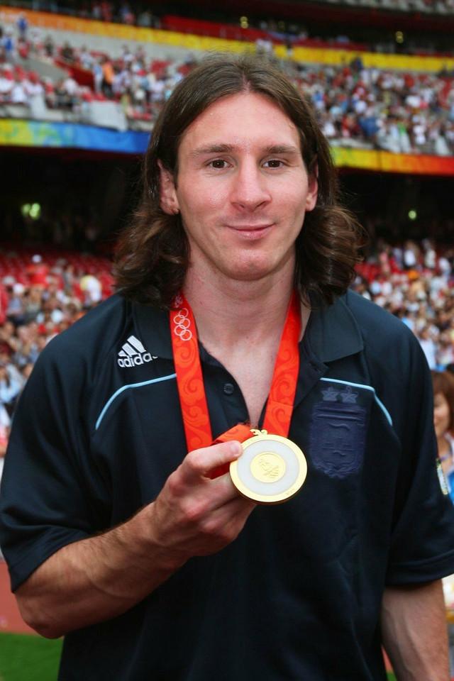 Lionel Mesi 2008. godine