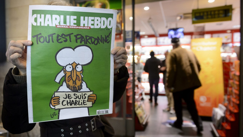 "Okładka ""Charlie Hebdo"""