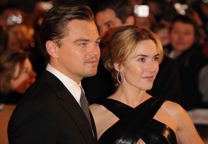 Kejt i Leo 2009. na londonskoj premijeri filma