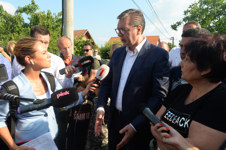 Aleksandar Vučić Borča, foto Tanjug D. Goll