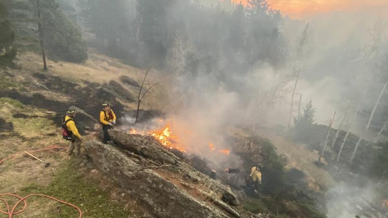 Pożar w Kolorado