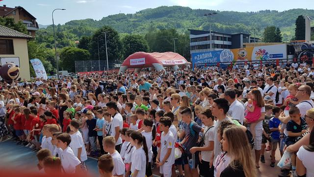 Dečji karavan radosti i prijateljstva je nastavljen u Novom Pazaru i Priboju