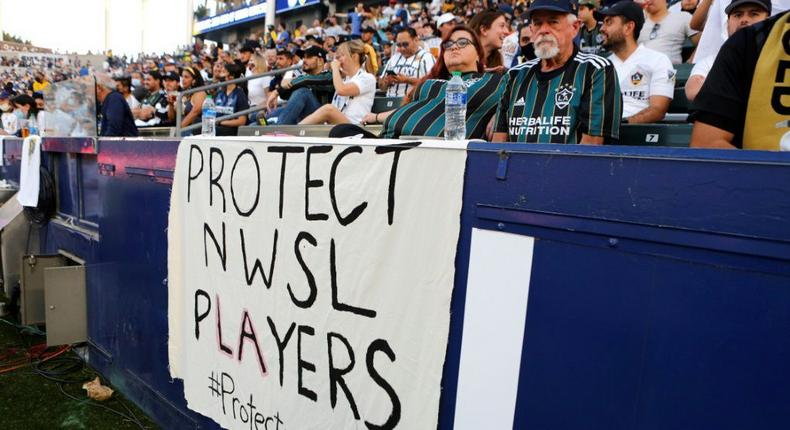 The NWSL, rocked by allegations of sexual misconduct by a coach and other player complaints, has relocated its November championship game from Portland to Louisville, Kentucky, at the request of players Creator: Katharine Lotze
