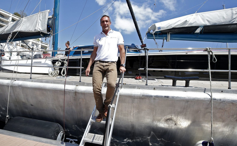 Mike Horn w Monako