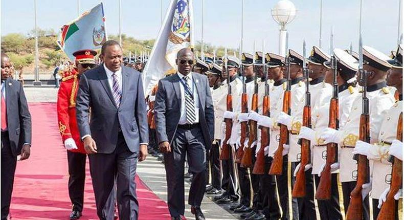 Angry President Kenyatta shames CSs Kiunjuri, Munya and PA Jomo Gecaca at meeting with the diaspora [Video]