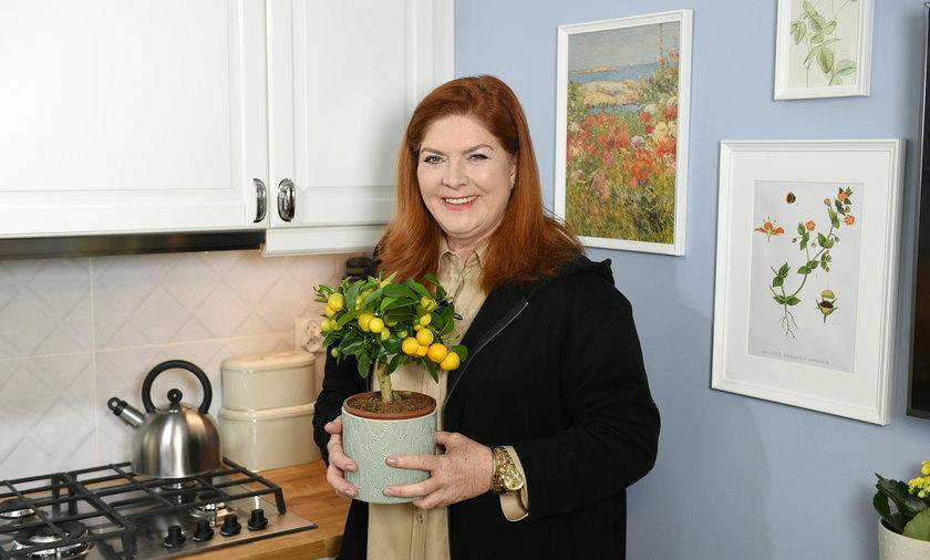 """Katarzyna Dowbor o tym z czego cieszą się rodziny w programie """"Nasz nowy dom""""."""