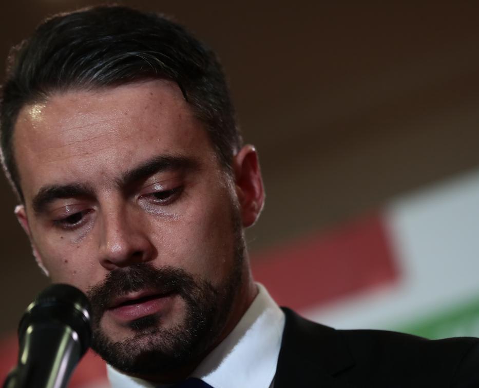 Vona Gábor a 2018-as választási kudarc után mondott le a Jobbik elnöki pozíciójáról /Fotó: Isza Ferenc