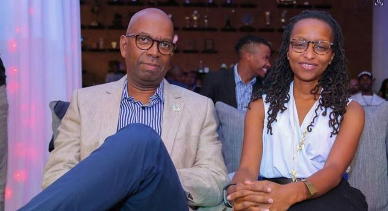 Bob Collymore's wife Wambui Collymore speaks for the first time