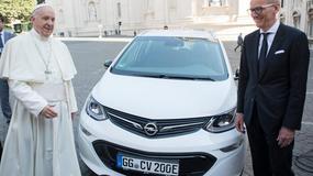 Nowym Papamobile będzie elektryczny Opel
