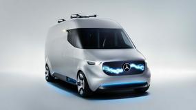 """Mercedes-Benz Vision Van - """"dostawczak"""" przyszłości"""