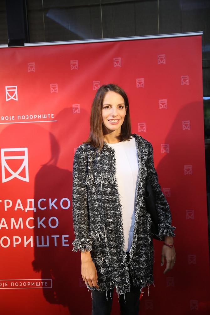 Nada Macanković juče u Beogradu
