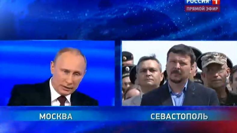 Władimir Putin odpowiada na pytania Rosjan