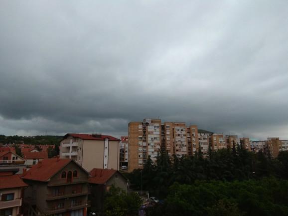 U Mirijevu kiša samo što nije počela