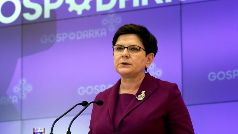 Beata Szydło skomentowała sprawę przetargu MON na śmigłowce