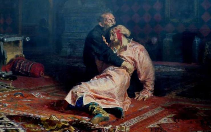 Car Ivan i njegov sin Ivan Ilje Rjepina