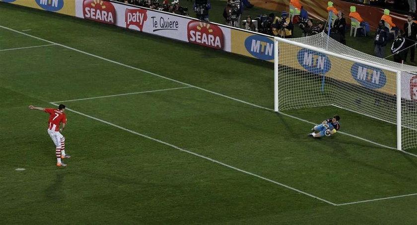Mecz Paragwaju z Hiszpanią obfitował w niezwykłe wydarzenia