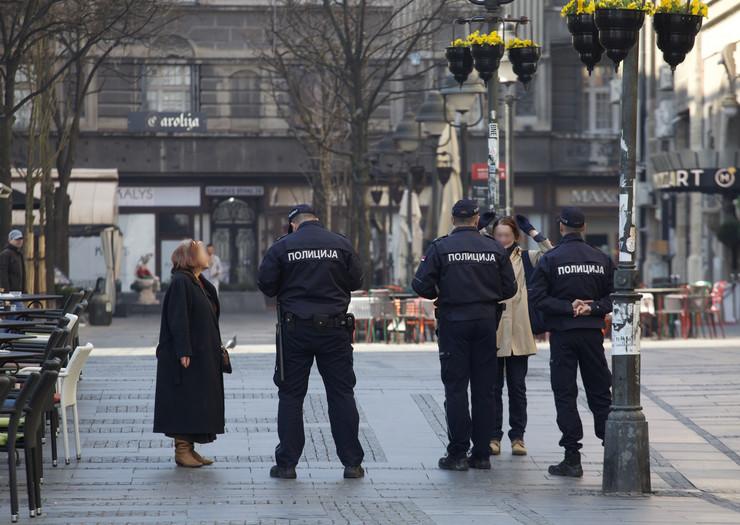 policija vanredno stanje legitimisanje