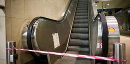 Zamknęli schody, bo skończyły się żarówki