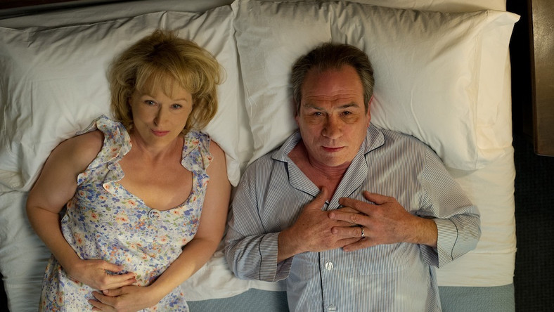 """Dwoje do poprawki"": Meryl Streep i Tommy Lee Jones"