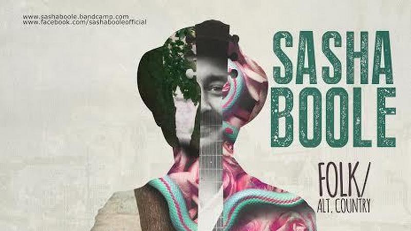 Sasha Boole - plakat trasy
