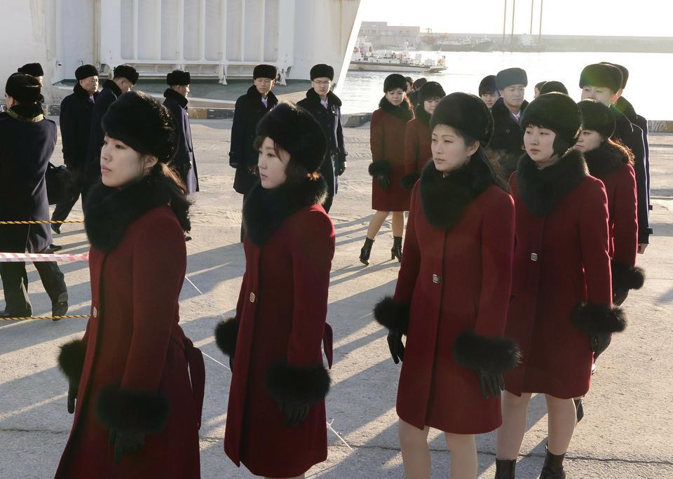 """""""Armia piękna"""" wylądowała w Pjongczangu"""