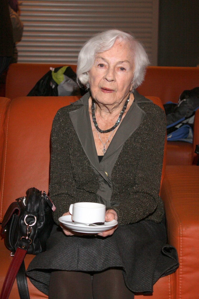 Alina Janowska w 2010 roku