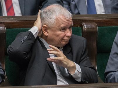 Jarosław Kaczyński uważa, że Polska ma szansę dostać pieniądze od Niemiec
