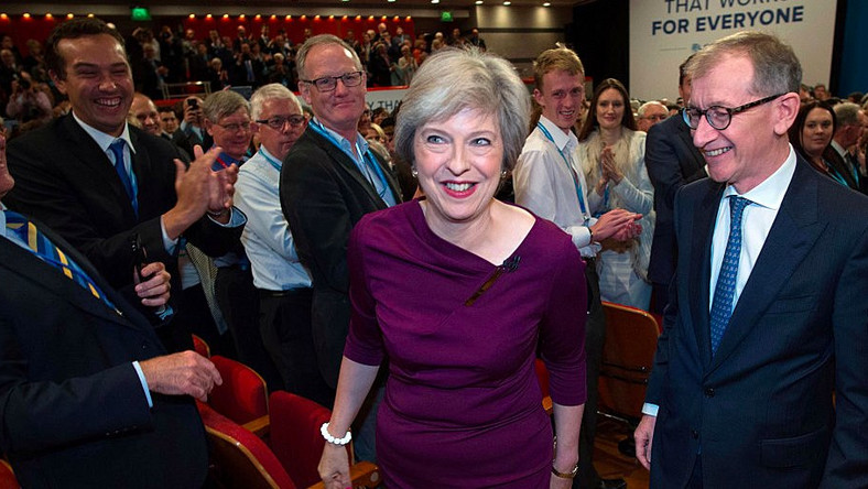 Who has supported Theresa May's rise to power?