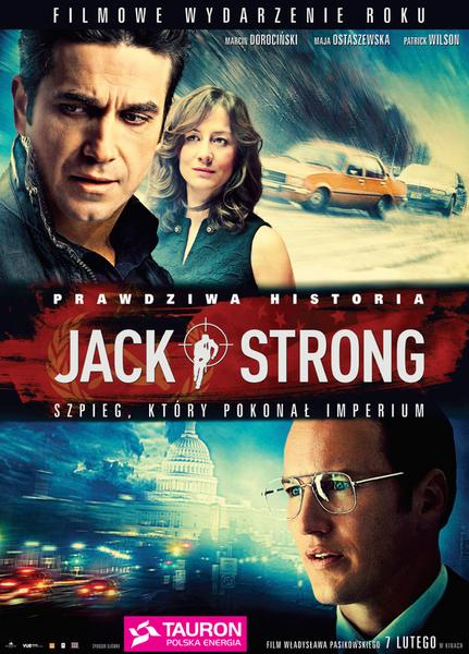 """Jack Strong"" - plakat"