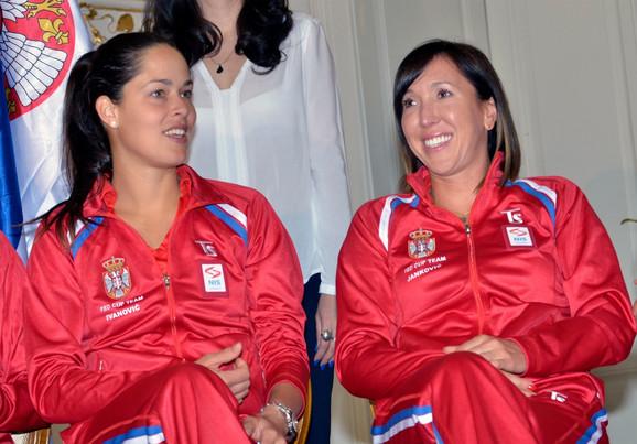 Ana Ivanović i Jelena Janković