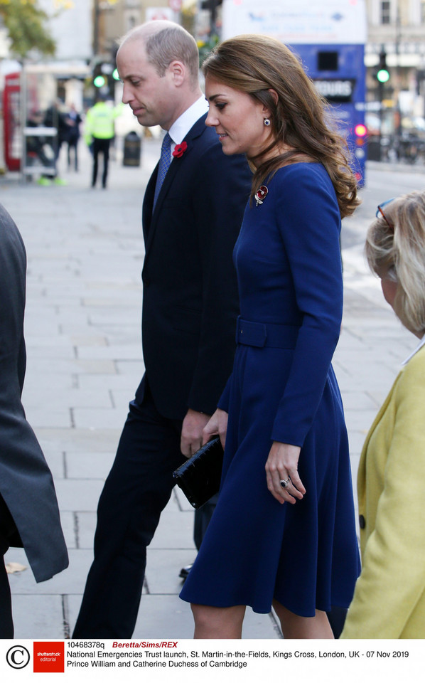 Kate i William na inauguracji fundacji National Emergencies Trust