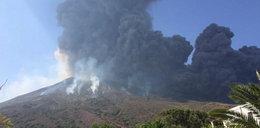 Wybuch wulkanu na włoskiej wyspie. Przerażające nagranie