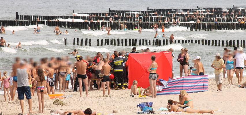 Turyści wchodzili do wody 15 minut po tym, jak wyłowiono topielca. Ratownik: apelujemy o rozsądek