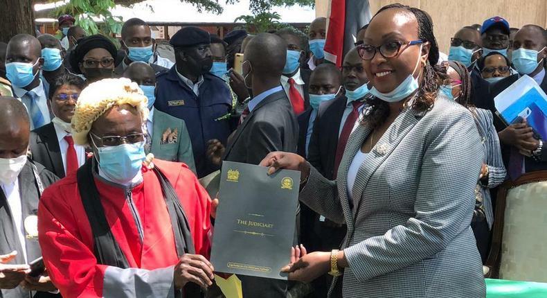 Anne Kananu Mwenda sworn in as Nairobi Deputy Governor